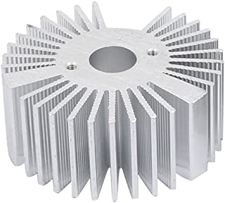 Aexit Aleta de enfriamiento de aluminio del radiador del disipador de calor del difusor de calor 50mmx22mm para (model: X6173VIIO-1761YC) la lámpara llevada
