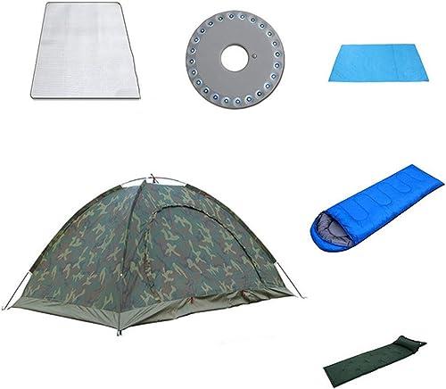 LiRongPing Camping sous la Pluie en Plein air, Double Camping, Tente de Camouflage Anti-Moustique écran Solaire