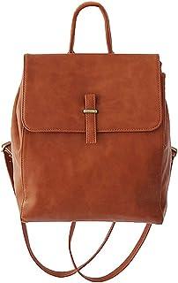 Xuan Yuan Backpack - Women's Vintage Shoulder Bag Art Backpack Backpack Multifunction Large Capacity Soft Leather Bag A4 Magazine File Briefcase Backpack (Color : Brown)