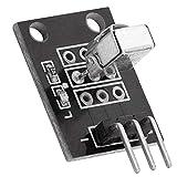 AZDelivery KY-022 Set de IR Receptor de infrarrojos CHQ1838 Módulo sensor para Arduino con eBook incluido