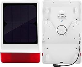 QXQX 2 Deurmagneet 3 Afstandsbediening433mhz Draadloze Solar Siren Burgers Beveiligingsalarmsysteem