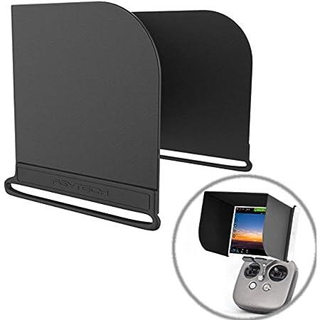 Hooshion Remote Controller Phone Monitor Sun Hood Sunshade Cover Hood Smartphone Tablet iPad Sun Shade for DJI Mavic Air 2 Pro Inspire/Phantom 3 4 M600 OSMO Accessories (7.9 inch, Black)