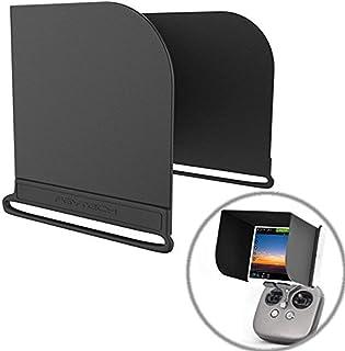 Hooshion Sonnenblende für Fernbedienung für Smartphone, Tablet, iPad, für DJI Mavic Pro Inspire / Phantom 3 4 M600 OSMO Zubehör (7,9 Zoll, Schwarz)