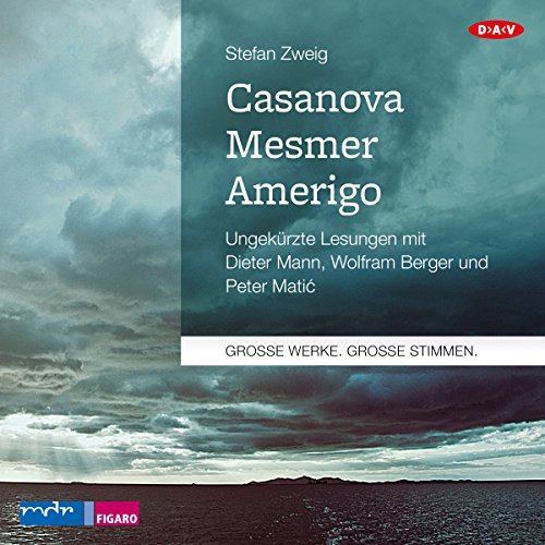 Casanova - Mesmer - Amerigo  By  cover art
