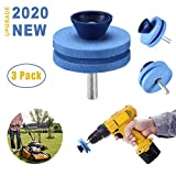 Best Blade Sharpeners - 【NEW UPGRADE】 Universal Multi-Sharp Rotary Double Layer Lawn Review