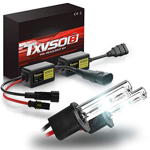 ZIHAOE H1/H3/H4/H7/H8 H9 H11/H13/880 881 H27/5202 H16/9004 9007/9005 HB3/9006 HB4 Xenon Brenner-6000K, AC 55W Xenon HID Ballast Scheinwerfer Kit, Auto Scheinwerfer Xenon Lampe Kits,H3