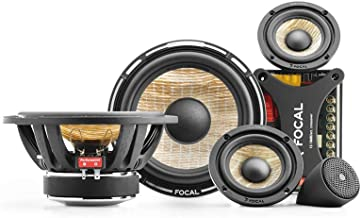 """Focal PS165F3 FLAX 6.5"""" 3-way component kit, RMS: 80W - MAX: 160W"""