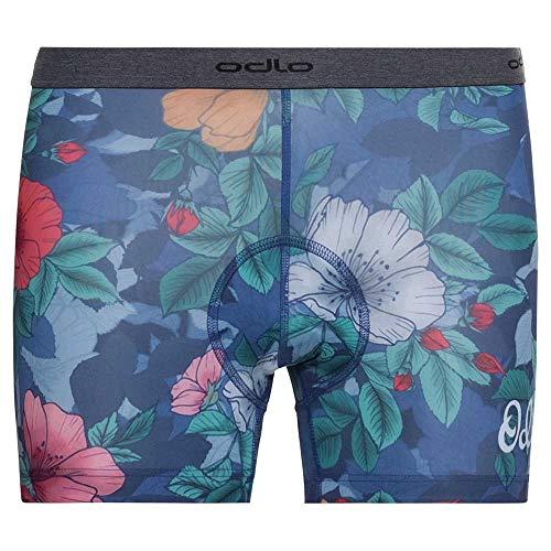 Odlo Culotte d'été pour Femme - Imprimé Floral - Taille S