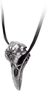 Helm of Awe Ravenskull Pendant by Alchemy Gothic (Metal-Wear), Silver