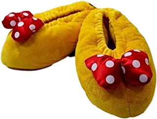 Parks Minnie Mouse Heel Slippers (Adult - Large)