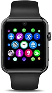 Smart Watch With Memory Card And Sim Card Slot, Black