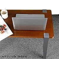 エンドテーブル サイドテーブル脚セット、 グレー ベンチ美脚 49センチメートル 金属工業 デスク美脚、 唯一のネジを締め