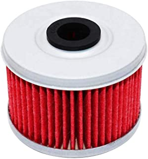 Yerbay Motorcycle Oil Filter for Honda TRX450S Foreman S 450 1998-2002 / SXS500M2 Pioneer 475 2015 2016