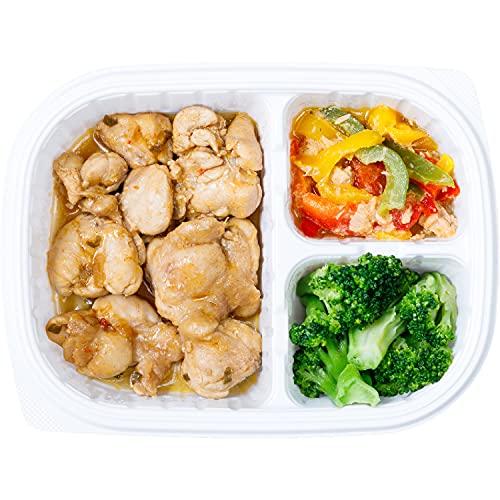 GOFOOD ゴーフード 低糖質 高タンパク質 弁当 三代目ブロチキ油淋鶏味 [5食セット] 冷凍弁当 お弁当 ダイエット 低糖質 糖質制限 糖質カット 健康