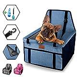 dainz ® Seggiolino auto per cani di piccola taglia e cuccioli, fino a 8 kg, per la vostra auto [pareti extra stabile] di alta qualità per il vostro cane per sentirsi benessere