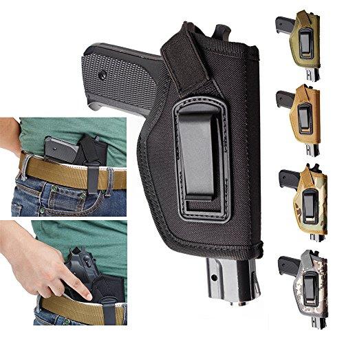 Gexgune Holster für Pistole Innen Bund IWB verdeckt tragen Pistole Holster Fit Glock 17 19 22 23 32 33 Ruger Nylon Holster (5 Farbe optional)
