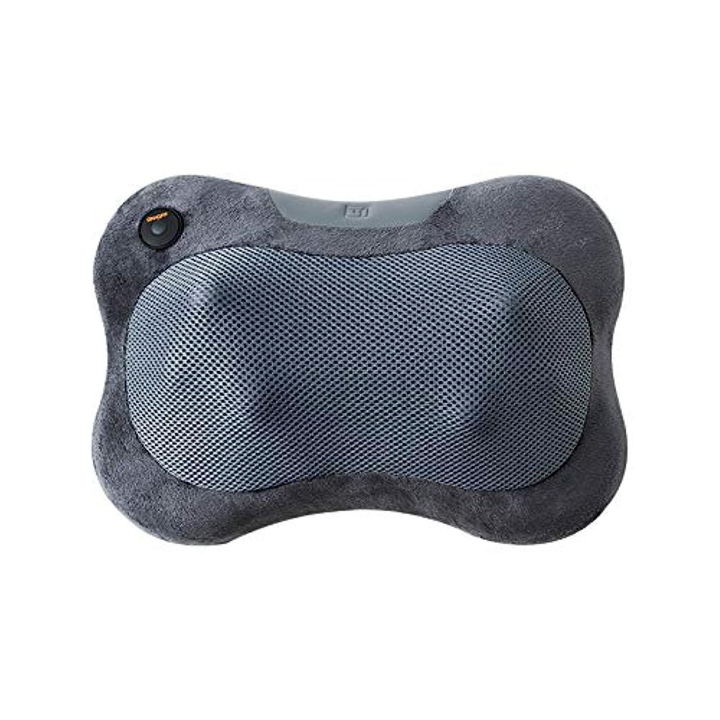 蒸火現実にはALJF 指圧マッサージ枕肩、腰、ふくらはぎ、脚、足、自宅、オフィス、車のための熱を練ります