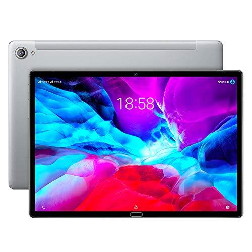 Tableta de llamadas 3G con Ranuras para Tarjetas SIM Dobles,Tablet PC con Android 9.0 de 10.8 pulgadas,Face ID,2GB RAM + 32GB ROM,FM,Bluetooth,WiFi,GPS,Batería de Gran Capacidad 6000mAh,Naranja/Verd