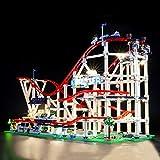 BRIKSMAX Kit de Iluminación Led para Lego Creator Expert Montaña Rusa, Compatible con Ladrillos de...