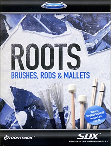 SDX Roots: Brushes, Rods & ... Superior Drummer 2 Library