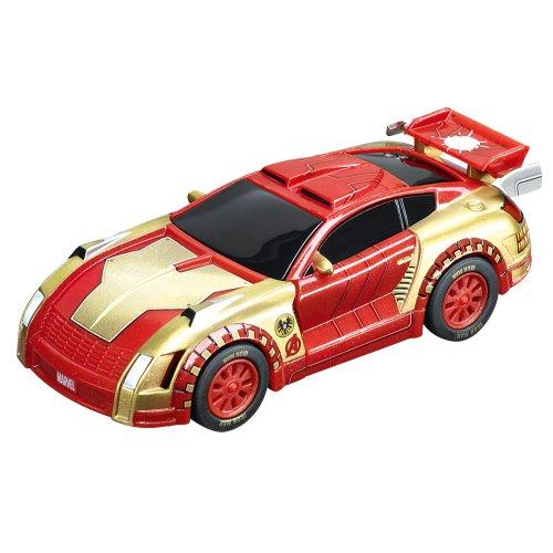 Carrera 20061256 - GO!!! Marvel - The Avengers Iron Man Tech Racer
