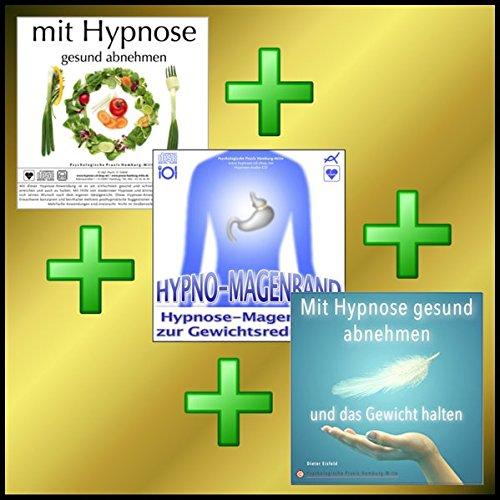 ABNEHM-GOLD-EDITION : MIT HYPNOSE GESUND ABNEHMEN + HYPNO-MAGENBAND + MIT HYPNOSE DAS GEWICHT HALTEN = OPTIMALES ABNEHMPROGRAMM!
