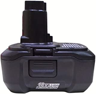 HuiDingDa 18V 3.0Ah Lithium-Ion Replacement Battery for DEWALT 18V battery DC9180 DC9096 DC9099 DC9181 DC9182 3000mAH