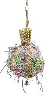 Baoblaze Zabawka do papugi, wisząca zabawka do niszczania karmy, gniazdo papugi, odpowiednie dla wielu małych papug i ptaków