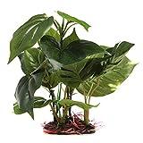 U/K Planta artificial para acuario de Pulabo, plantas artificiales, verde, excelente calidad, práctica