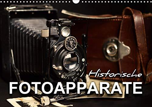Historische Fotoapparate (Wandkalender 2021 DIN A3 quer)