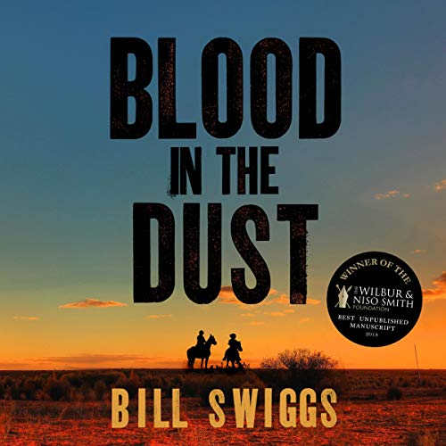 Blood in the Dust audiobook cover art