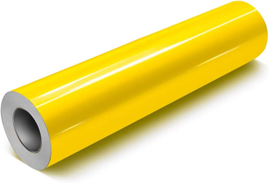 VViViD Yellow Gloss DECO65 Permanent Direct store Vinyl Adhesive Craft Cr OFFer for