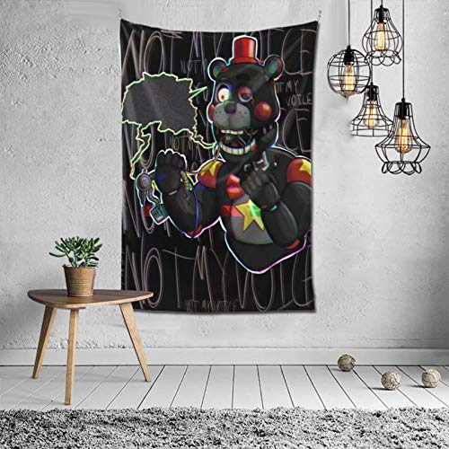 MikeyMillar Tapestry Large Wall Hanging Five Nights at Freddy's Fashion Tapestry Multipurpose Tapestries Wall Art Home Decorations for Living Room Bedroom Dorm Decor 60X40inch