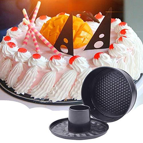 Persiverney-Jia Kuchenplatte Kürbis Käsekuchen Spring Buckle 7-Zoll-Käse Backformen Kuchen Antihaft-Backform Backform Dreiteilige Springform-Kuchenform für Schnellkochtopf 5 6 8 Qt