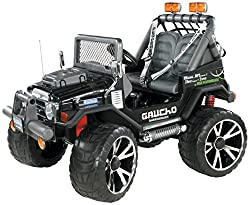 24volts, 2Seats 2forward gears and reverse gear Accelerator and brake with progressive acceleration Horn, FM radio and MP3compatibility Seat belts, adjustable seats that can be set as the child grows