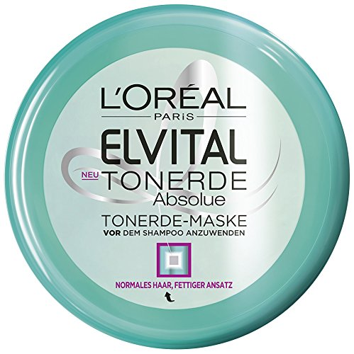 L'Oréal Paris Elvital Tonerde Pre-Shampoo-Kur, 3er Pack (3 x 150 ml)