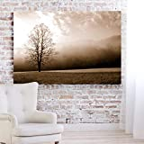 WALL ART SIZE: Landscape 18 X 27 inch (45. 72 X 68. 58 cm). Great wall décor for your home, office, living room, bedroom, study, library etc. Perfect gift idea for everybody. Each piece comes fully assembled and ready to hang 1. 50 inch hihg quality ...