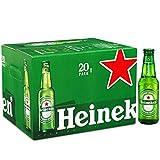 Heineken Bière blonde - Les 20 bouteilles de 25cl