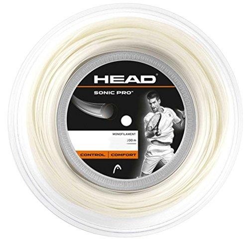 Head Sonic Pro 1.30mm Blanco Tenis Cordaje