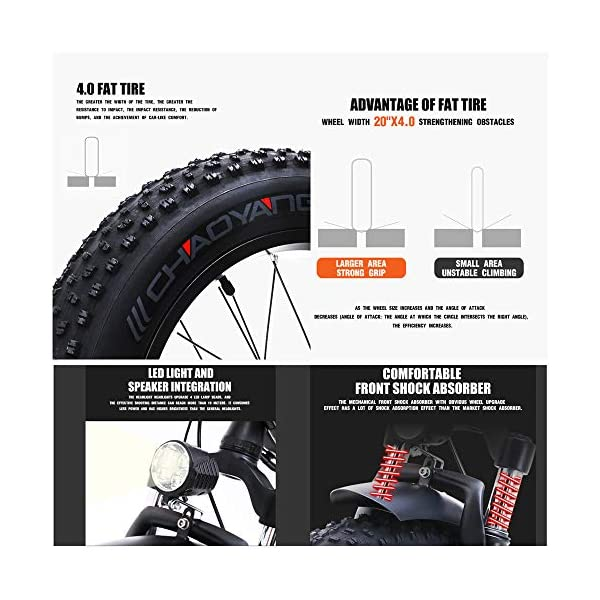 51dI55woznL. SS600  - Skyzzie Klapprad 20 Zoll Faltrad E-Bike Pedelec Elektrofaltrad Klappfahrrad F04, 7 Gang-Schaltung, LCD-Instrument, 48V 15AH,Weiß/Schwarz