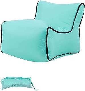 YUHUANG Lazy Couch  Fast Inflatable Airbag Outdoor Airbag Sofa Chair Camping Portable Air Sofa Beach Bed Air Nylon Bag Sofa Bag