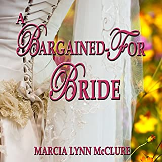 A Bargained-For Bride audiobook cover art