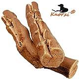 Knorzi - Bio Kauholz für den Hund - Größe S - Hundespielzeug - Kauknochen - Kauvergnügen -...