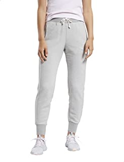 Reebok Women's TE Textured Logo Pant Trouser
