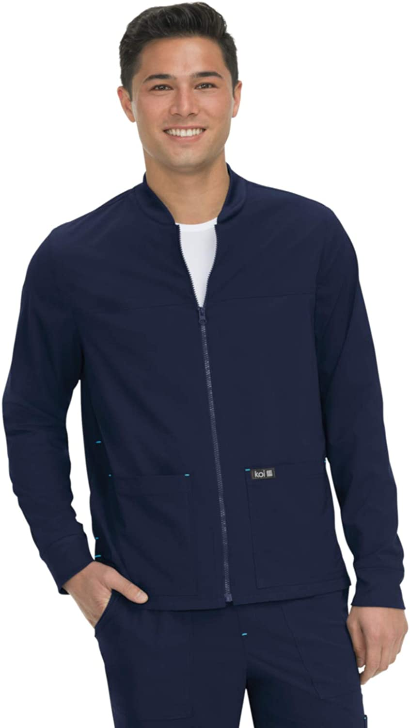 KOI Basics Comfortable Easy Care Unisex Scrub Hayden Free shipping Cheap mail order sales anywhere in the nation Jacket