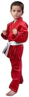 ProForce 6oz Student Karate Gi / Uniform - Red - Size 00