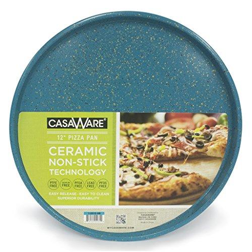 casaWare Pizza/baking Pan 12inch Blue  Granite