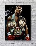 MeiMeiZ Mike Tyson Poster mit Gürteln, Standardgröße,