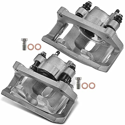 A-Premium Disc Brake Caliper Assembly with Bracket Compatible with Ram 1500 Dodge Durango Ram 1500 Aspen 2002-2018 Rear Left and Right 2-PC