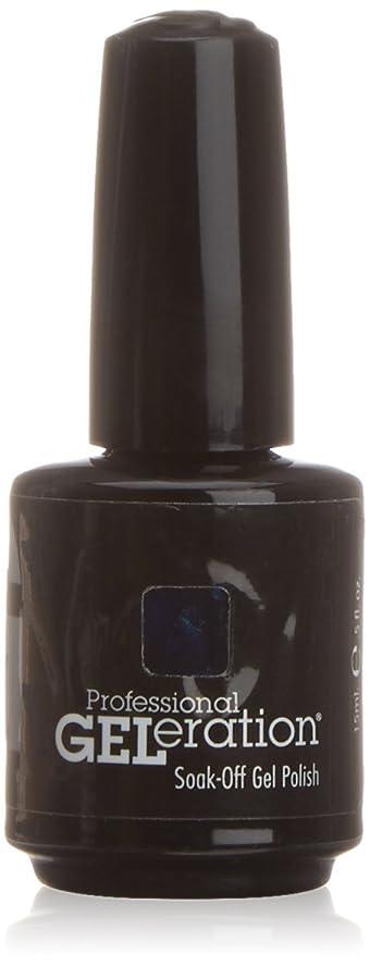 アルファベット順であること真夜中ジェレレーションカラー GELERATION COLOURS 917 P ミッドナイトムーンライト 15ml UV/LED対応 ソークオフジェル
